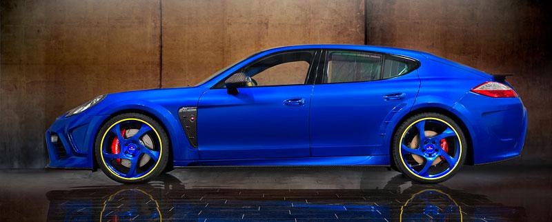 Porsche Panamera Turbo: 690 koní a extrémní barvy od Mansory: - fotka 5