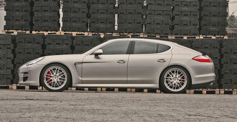 Porsche Panamera Turbo: více síly a nová kola od MCCHIP: - fotka 4