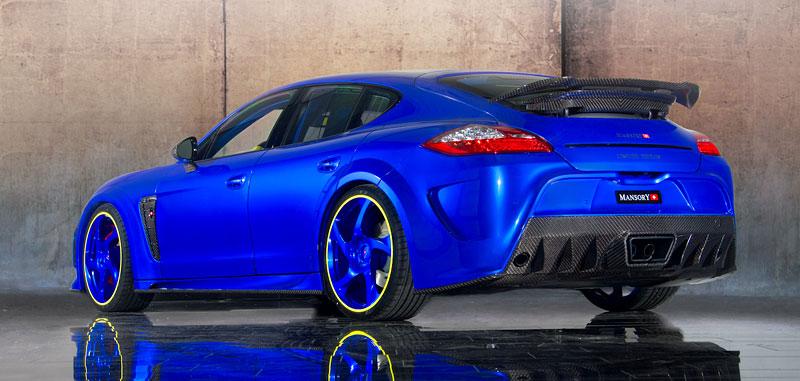 Porsche Panamera Turbo: 690 koní a extrémní barvy od Mansory: - fotka 6