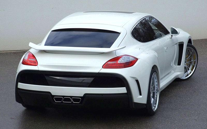 FAB Design Porsche Panamera: extrémní úprava ze Švýcarska: - fotka 9