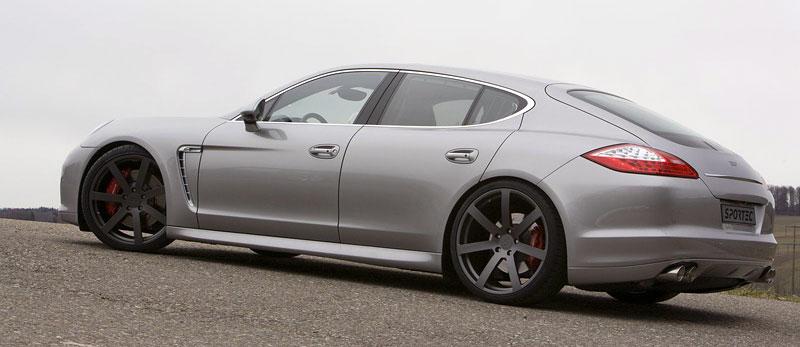 Porsche Panamera Turbo: 60 koní navíc ze Švýcarska: - fotka 4