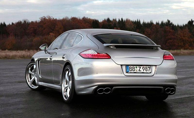 TechArt: sada na zvýšení výkonu pro Porsche Panamera Turbo přidá 80 koní a 60 Nm: - fotka 29
