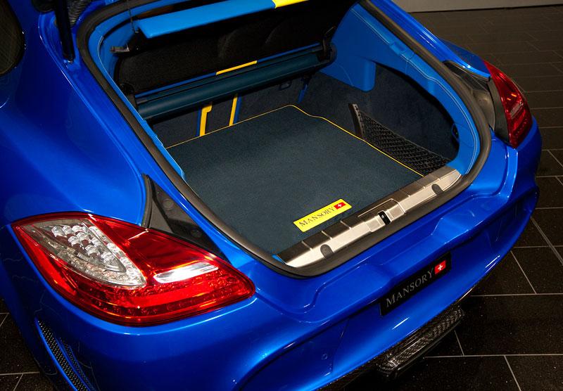 Porsche Panamera Turbo: 690 koní a extrémní barvy od Mansory: - fotka 8