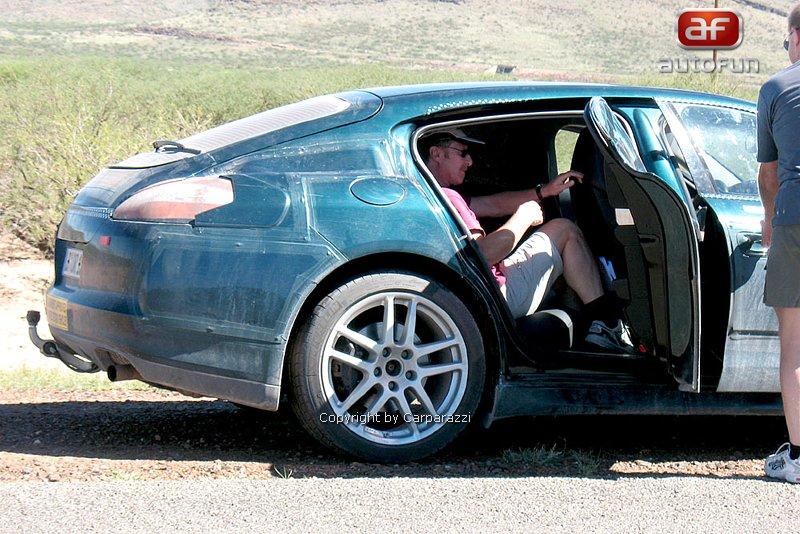 Spy photos: Porsche Panamera – Jdeme do finále: - fotka 5