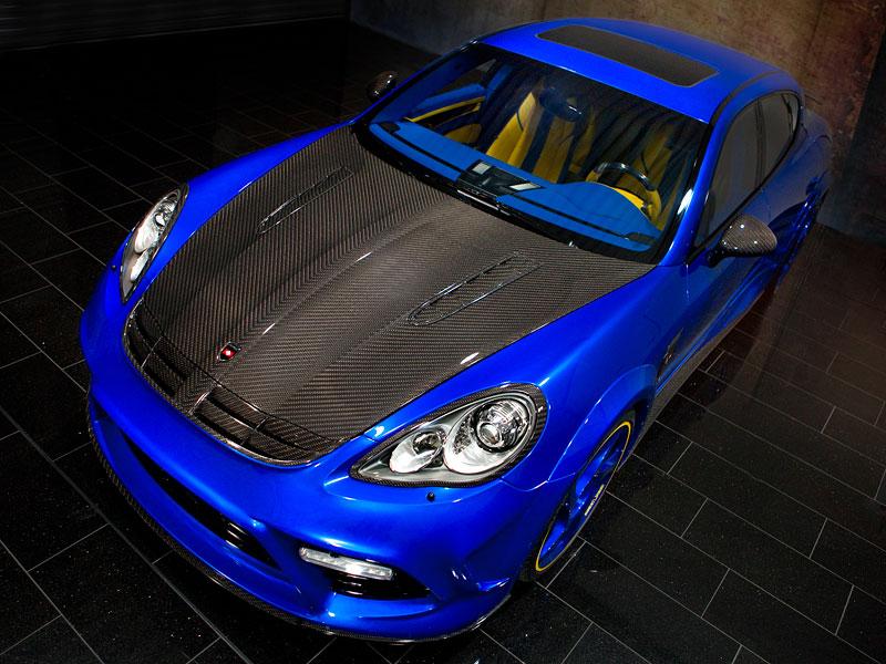 Porsche Panamera Turbo: 690 koní a extrémní barvy od Mansory: - fotka 11