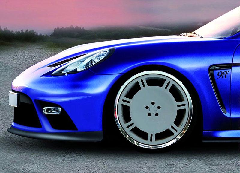 9ff Panamera Turbo: 650 koní a ostrý výraz pro nové Porsche: - fotka 6
