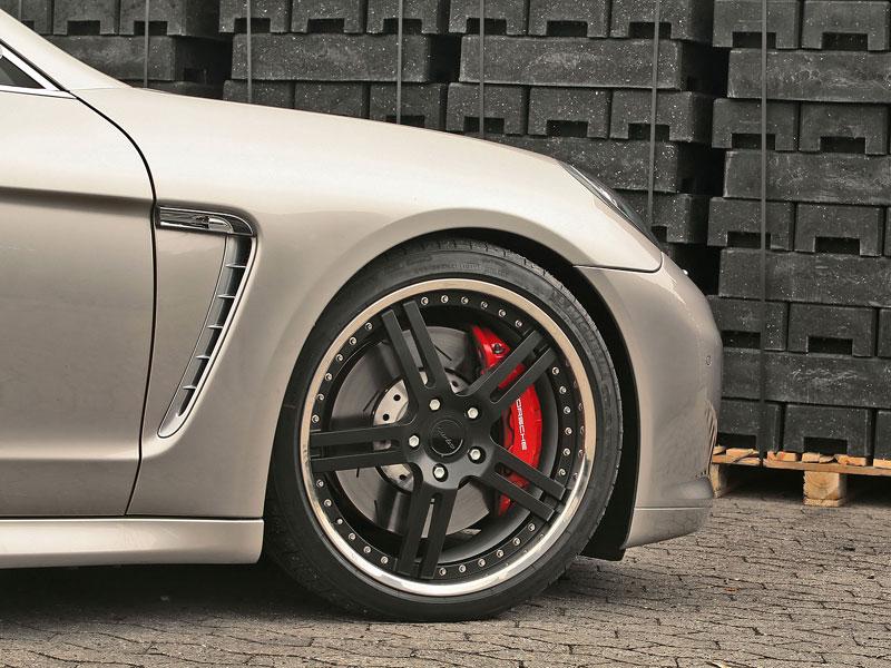 Porsche Panamera Turbo: více síly a nová kola od MCCHIP: - fotka 8