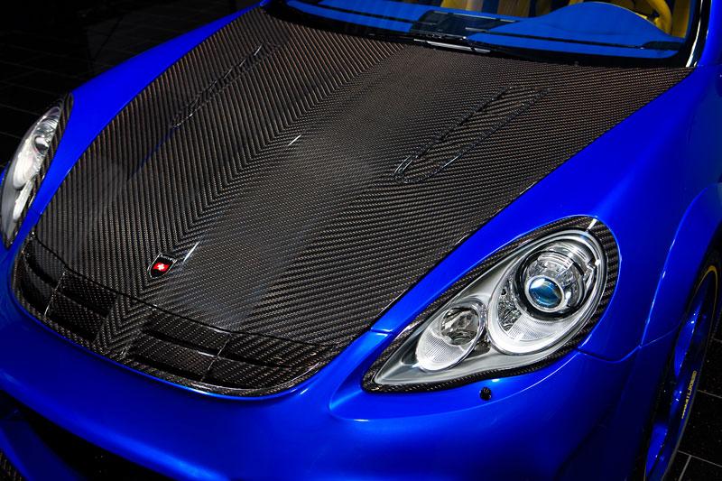 Porsche Panamera Turbo: 690 koní a extrémní barvy od Mansory: - fotka 12