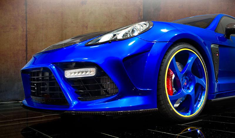 Porsche Panamera Turbo: 690 koní a extrémní barvy od Mansory: - fotka 13