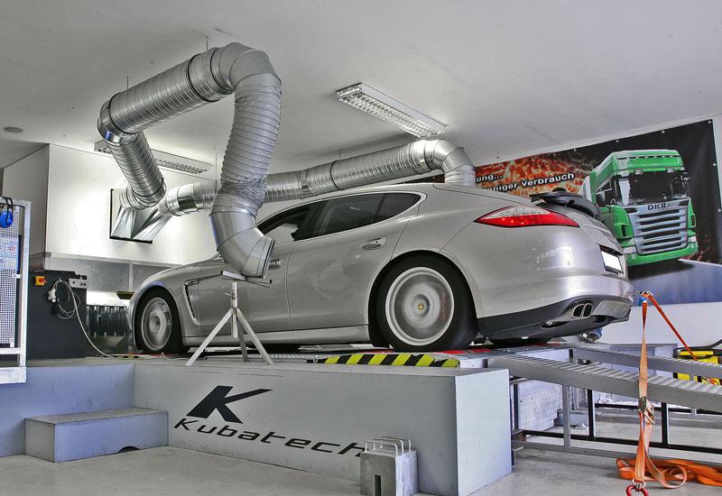 Porsche Panamera Turbo: více síly a nová kola od MCCHIP: - fotka 9