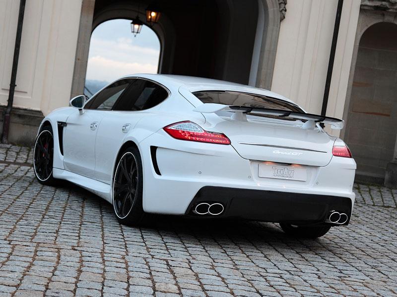Porsche Panamera: Techart GrandGT podruhé: - fotka 24