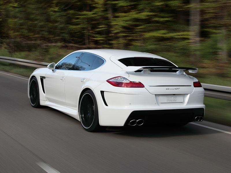 Porsche Panamera: Techart GrandGT podruhé: - fotka 25