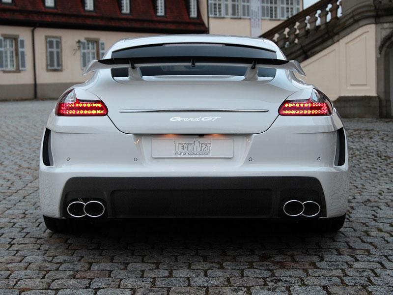 Porsche Panamera: Techart GrandGT podruhé: - fotka 26