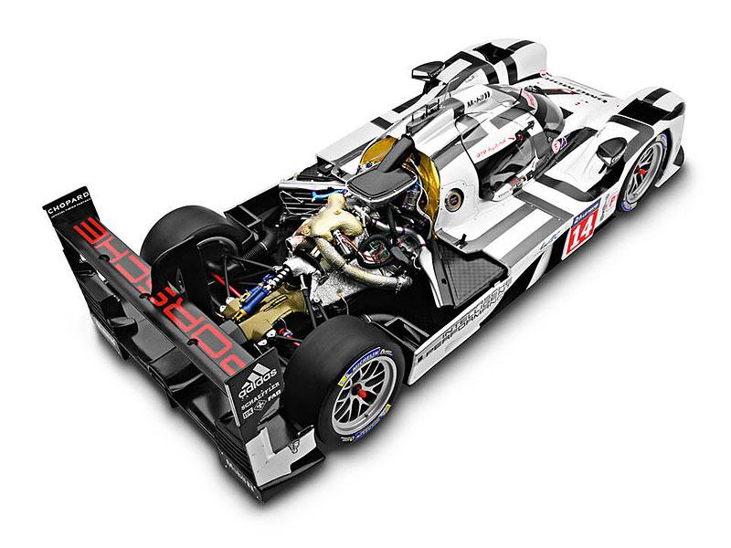 Porsche nabízí závodní 919 Hybrid za cenu Škody Rapid. Akorát se v něm nesvezete: - fotka 4