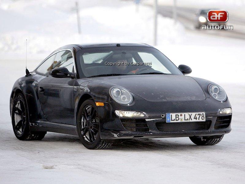 Spy Photos: Porsche 911 Targa facelift: - fotka 1