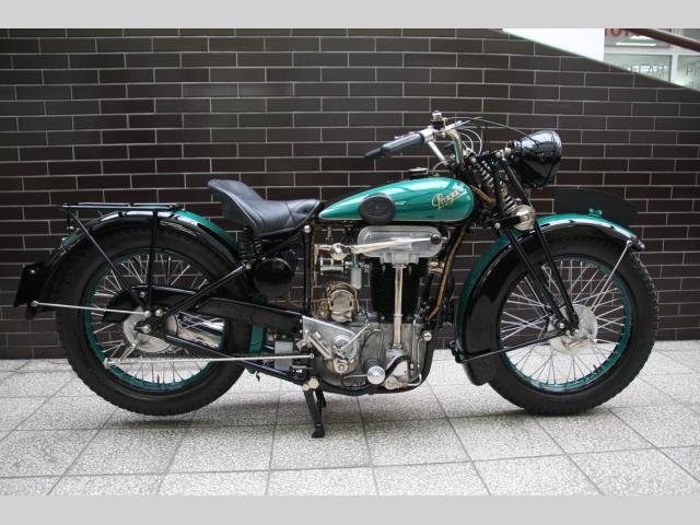 Československá motorka Praga BD 500 byla ve své době špička. Jednu teď můžete mít: - fotka 2