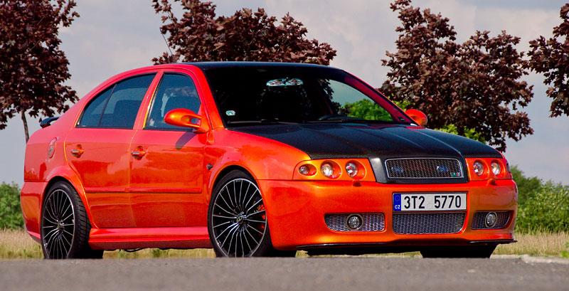 Škoda Octavia RS – Pavoučí muž: - fotka 12