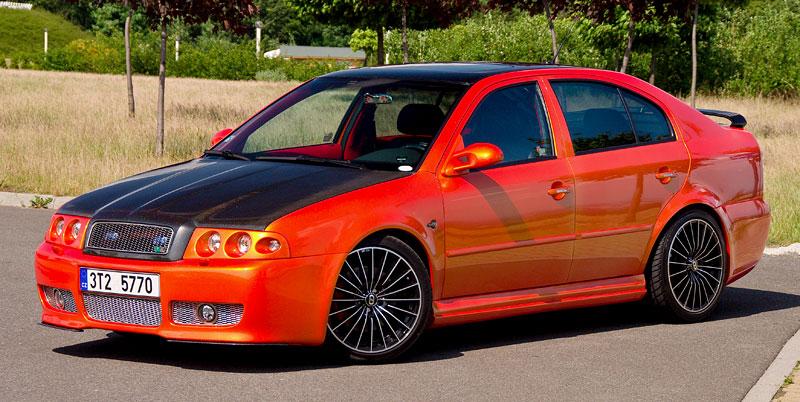 Škoda Octavia RS – Pavoučí muž: - fotka 15