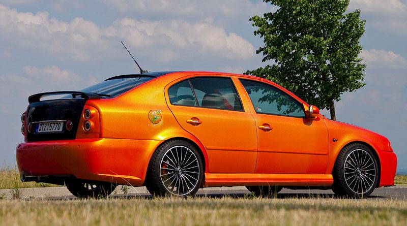 Škoda Octavia RS – Pavoučí muž: - fotka 20