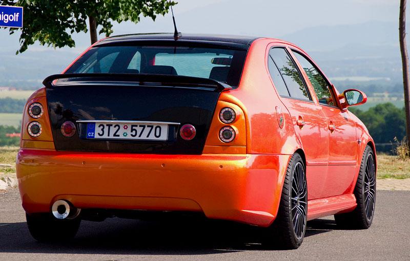 Škoda Octavia RS – Pavoučí muž: - fotka 21