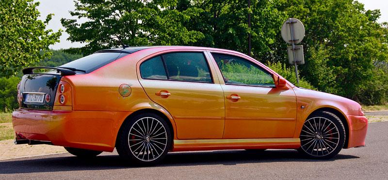 Škoda Octavia RS – Pavoučí muž: - fotka 23