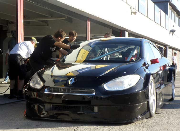 Renault Fluence TC2000: Budu závodníkem!: - fotka 18