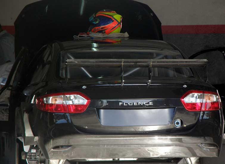 Renault Fluence TC2000: Budu závodníkem!: - fotka 19