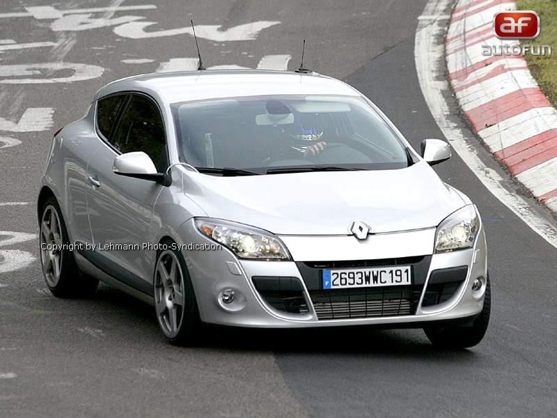 Spy Photos: Megane Coupe Renault Sport: - fotka 1
