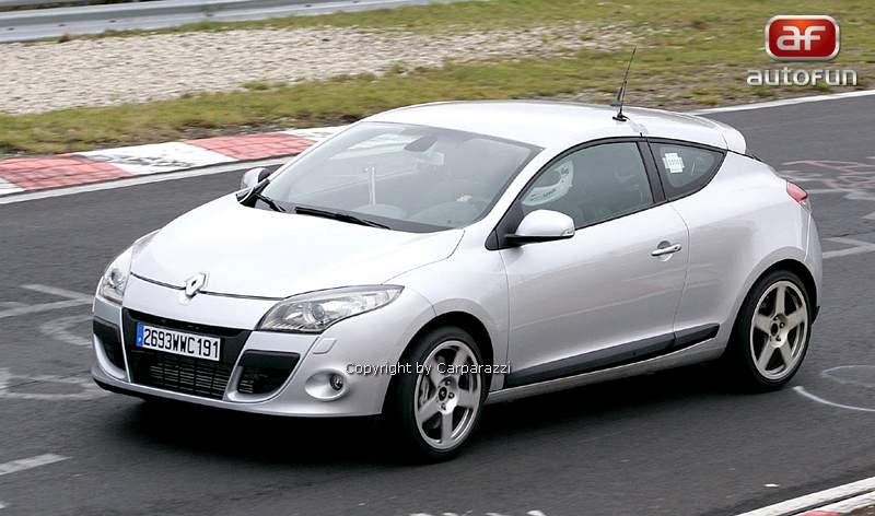 Spy Photos: Megane Coupe Renault Sport: - fotka 2