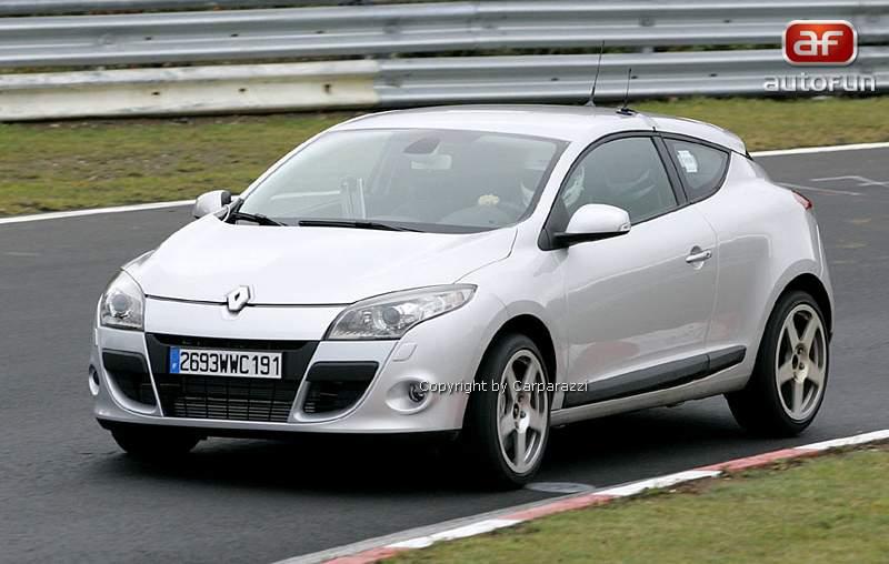 Spy Photos: Megane Coupe Renault Sport: - fotka 3