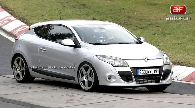 Spy Photos: Megane Coupe Renault Sport: - fotka 4