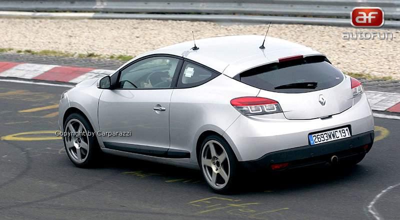 Spy Photos: Megane Coupe Renault Sport: - fotka 8