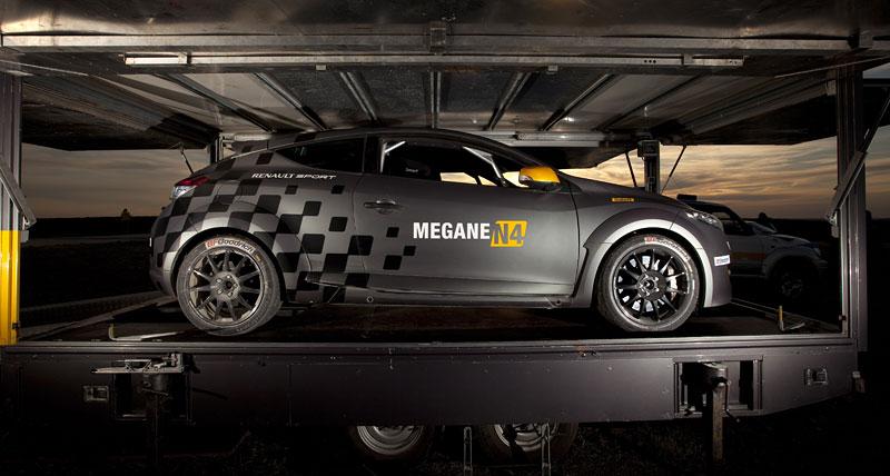 Renault představuje Megane RS v rallyové specifikaci N4: - fotka 45