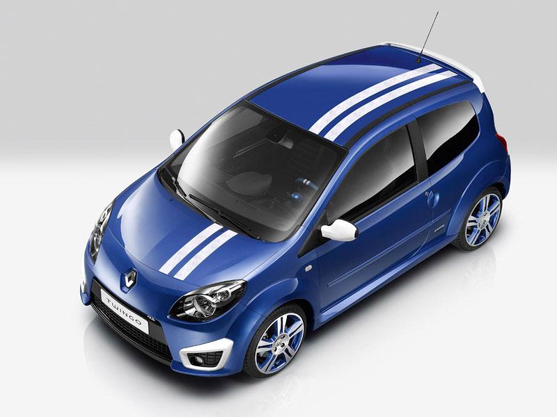 Twingo Gordini: levnější než RS: - fotka 8