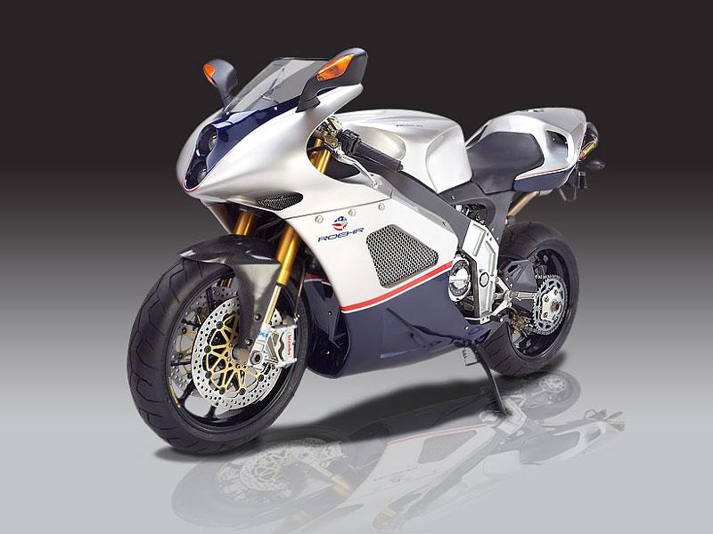 Roehr 1250sc: supersport s motorem z Harleye: - fotka 2