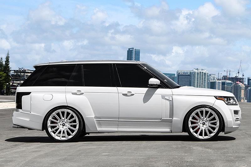 Range Rover od MC Customs: Bílá brutalita: - fotka 2