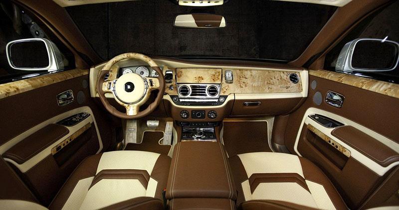 Mansory White Ghost Limited: nehledáte náhodou limuzínu?: - fotka 2