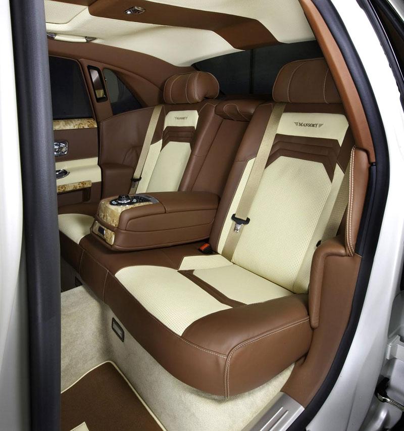 Mansory White Ghost Limited: nehledáte náhodou limuzínu?: - fotka 4