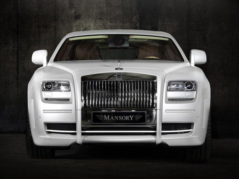Mansory White Ghost Limited: nehledáte náhodou limuzínu?: - fotka 5