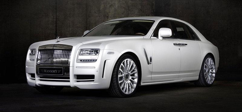 Mansory White Ghost Limited: nehledáte náhodou limuzínu?: - fotka 6