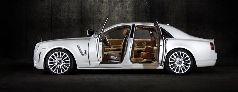 Mansory White Ghost Limited: nehledáte náhodou limuzínu?: - fotka 8
