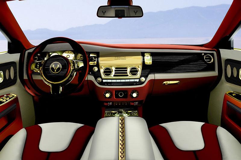 Fenice Milano Diva: načančaný Rolls-Royce Ghost: - fotka 1