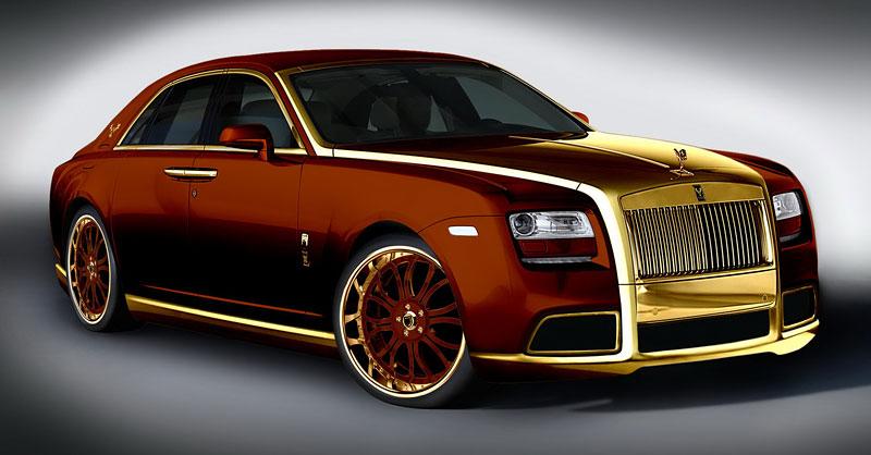 Fenice Milano Diva: načančaný Rolls-Royce Ghost: - fotka 4