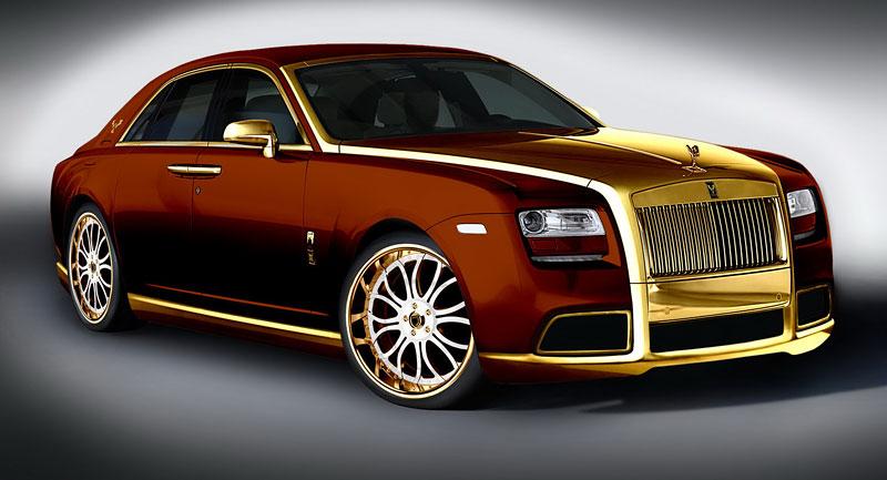 Fenice Milano Diva: načančaný Rolls-Royce Ghost: - fotka 6