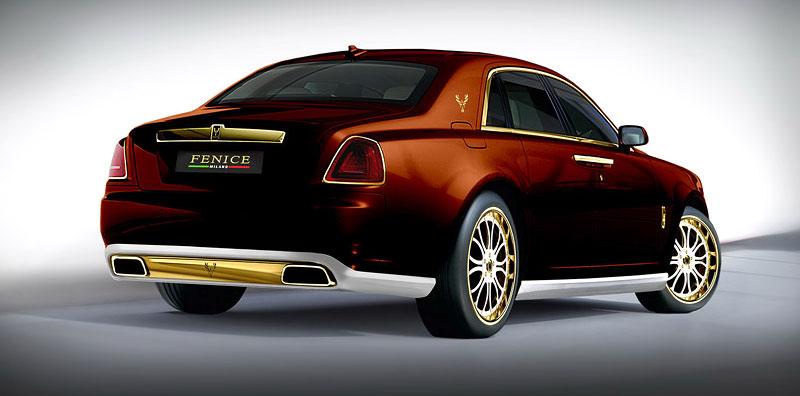 Fenice Milano Diva: načančaný Rolls-Royce Ghost: - fotka 11