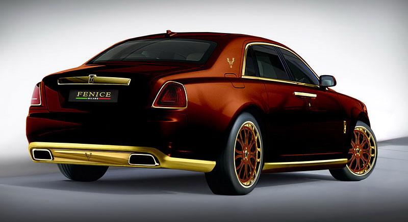 Fenice Milano Diva: načančaný Rolls-Royce Ghost: - fotka 13