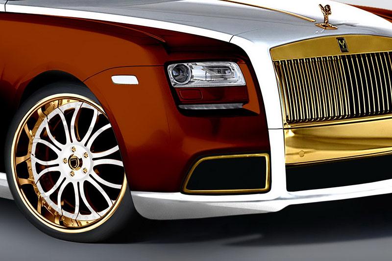 Fenice Milano Diva: načančaný Rolls-Royce Ghost: - fotka 15