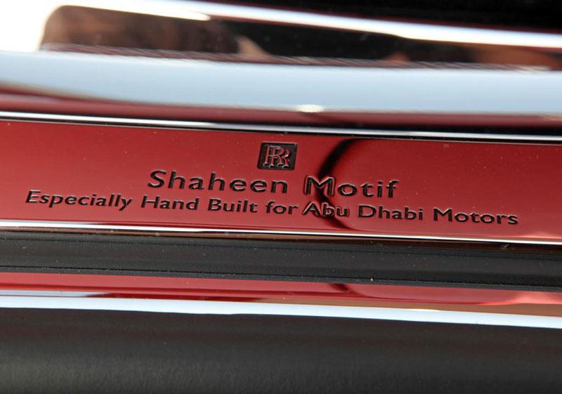 Rolls-Royce Phantom: speciality pro Spojené arabské emiráty: - fotka 2