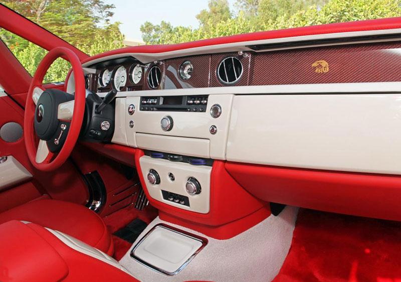 Rolls-Royce Phantom: speciality pro Spojené arabské emiráty: - fotka 3