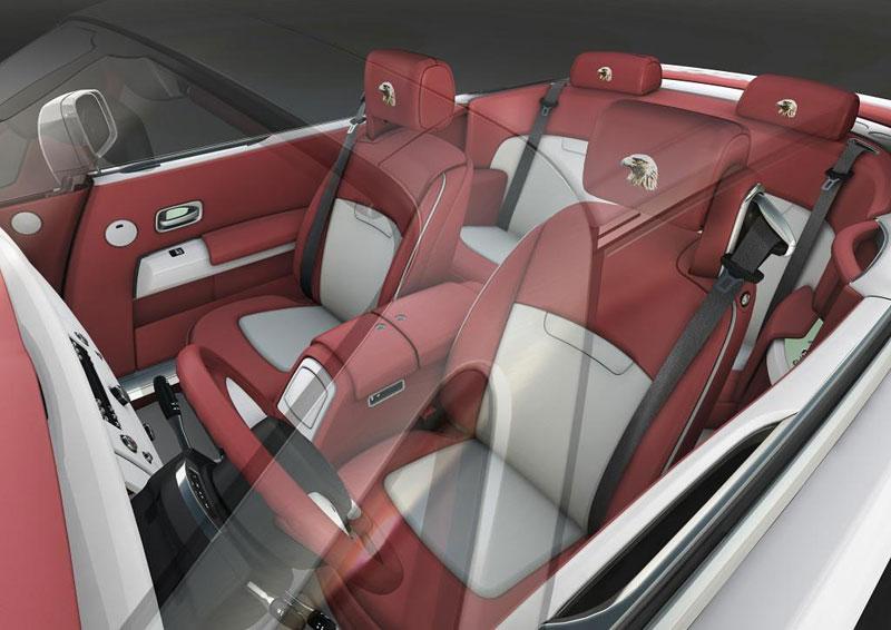 Rolls-Royce Phantom: speciality pro Spojené arabské emiráty: - fotka 4